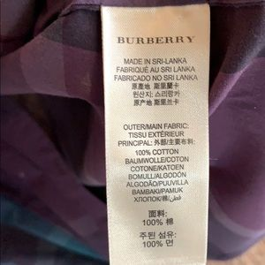 Burberry Tops - Burberry collared shirt